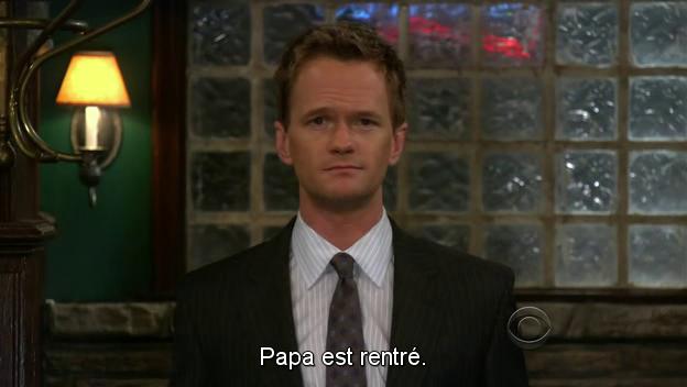 Barney Stinson - Papa est rentré